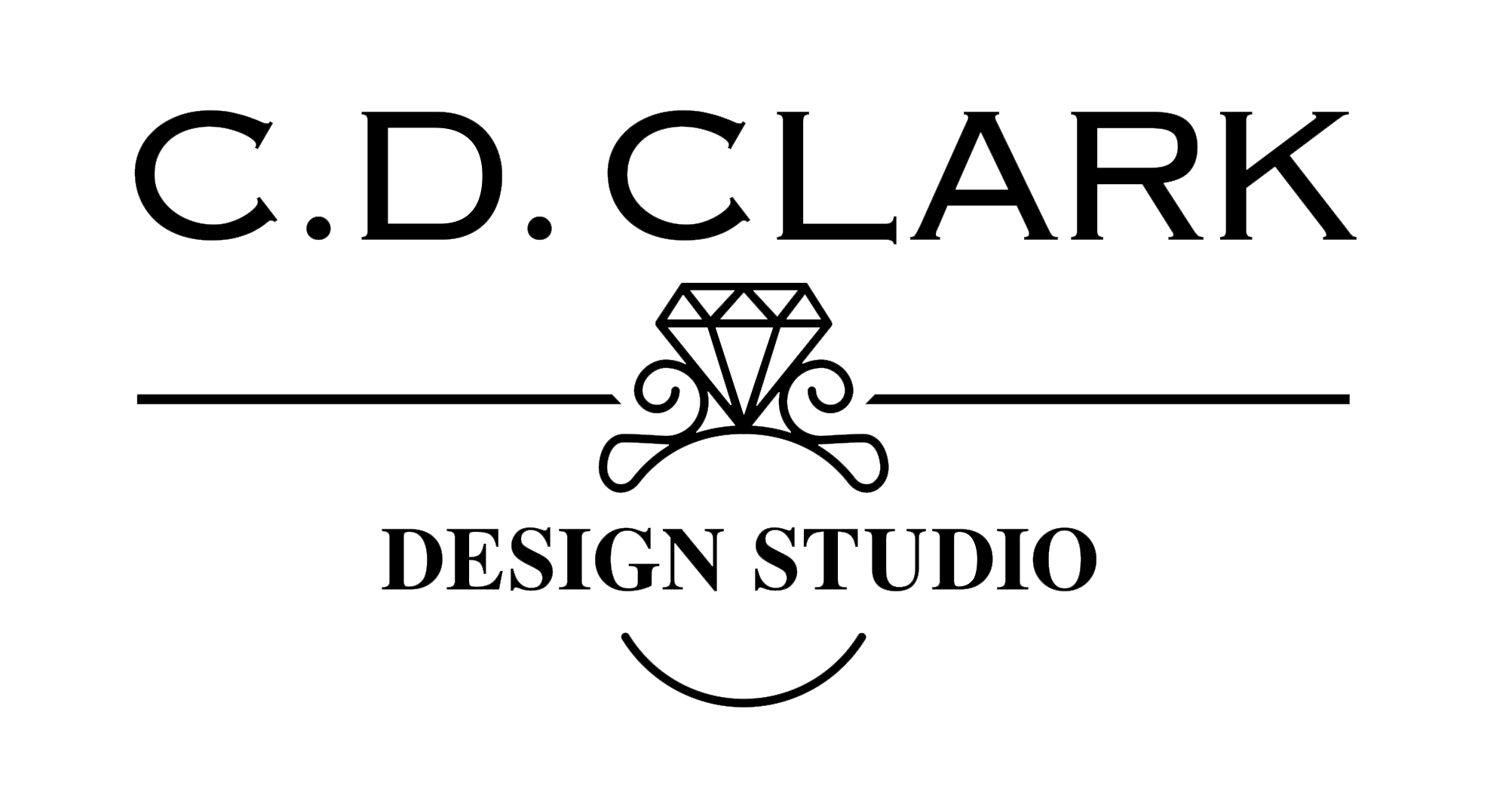 CD Clark Diamonds & Design Studio Logo