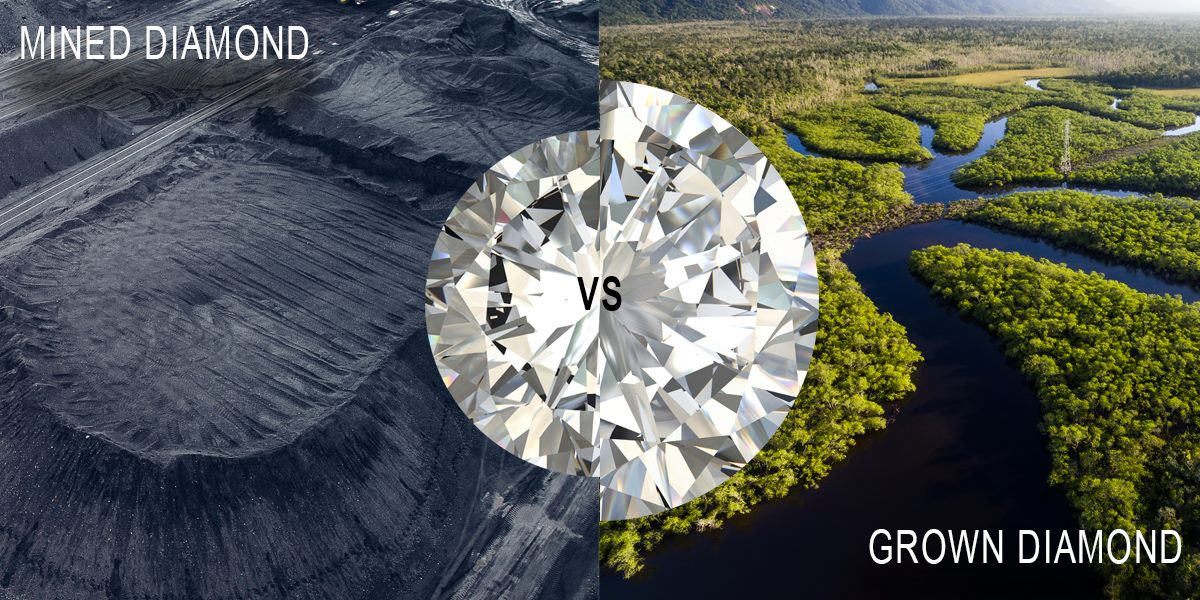 mined vs lab grown diamonds